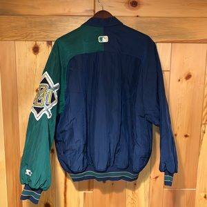 STARTER Jackets & Coats - Vintage 90s Starter Milwaukee Brewers MLB Jacket L